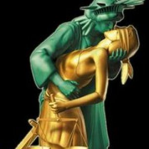 Lady Liberty meets Lady Justice....Tell us anything?